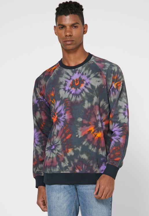 Malmoe Tie Dye Sweatshirt