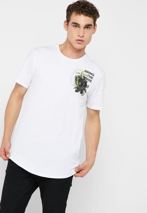 Pedley Longy Front/Back  T-Shirt