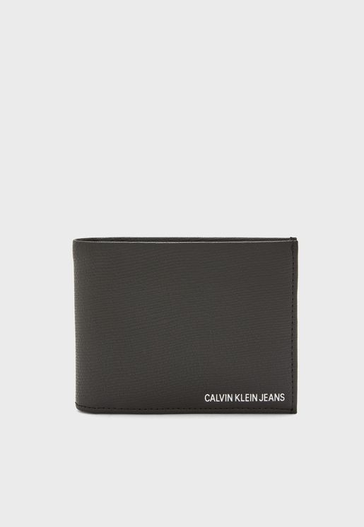 Coated Logo Billfold Wallet