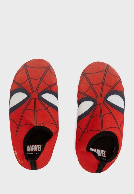 Kids Spiderman Slip On