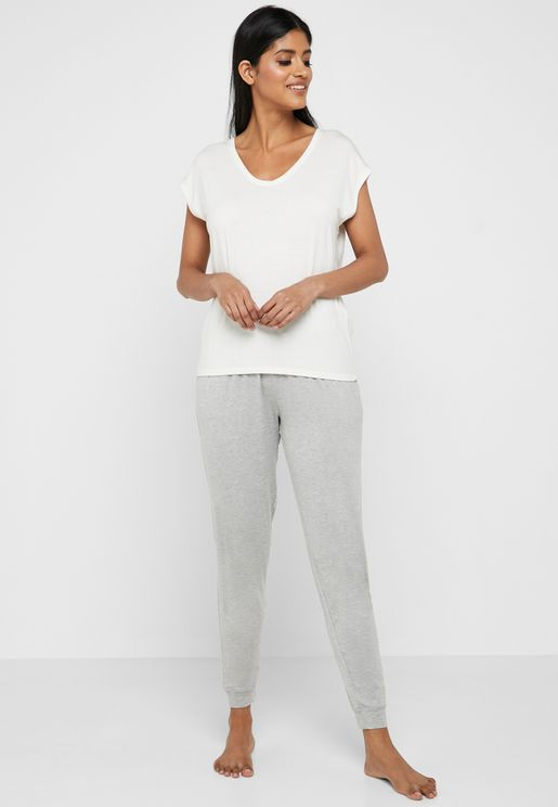 Twisted Front Lounge Pants