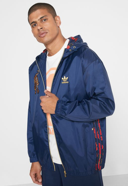 Forbidden City Hooded Jacket