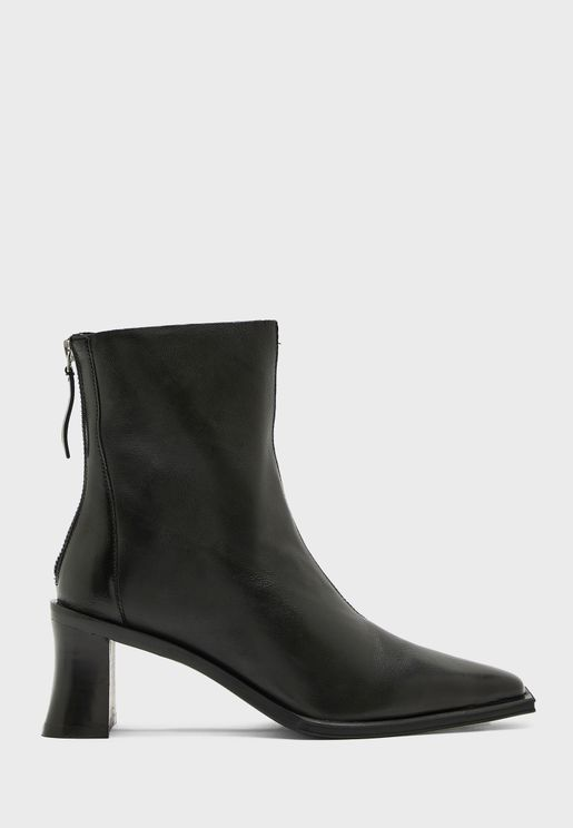 Block Hell Ankle Boot