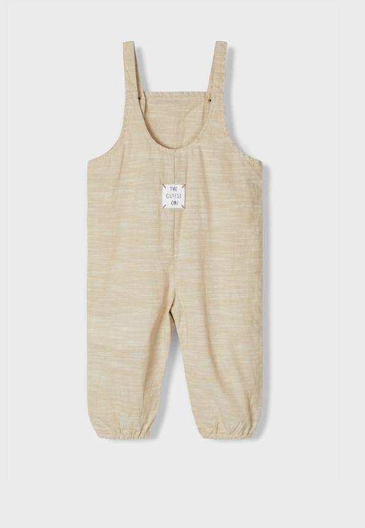 Infant Casual Jumpsuit