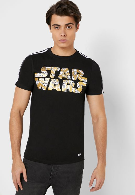 Star Wars Gold Foil T Shirt