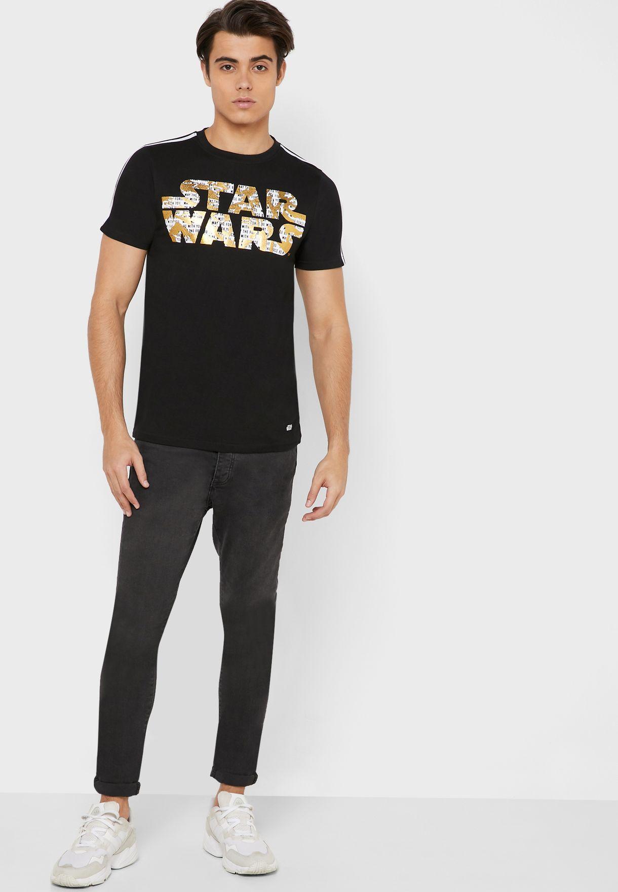 Star Wars Gold Foil T Shirt