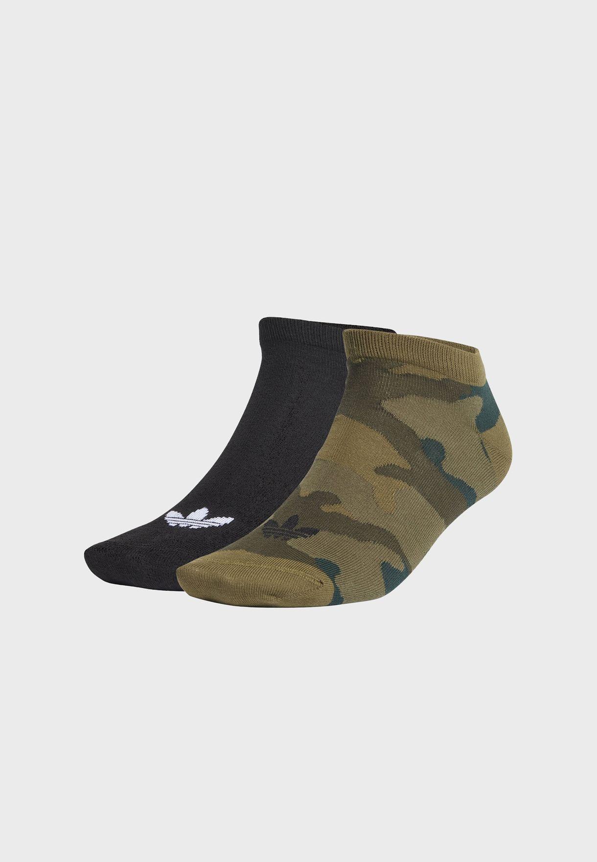 2 Pack Camo Crew Socks