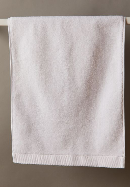 Luxe Guest Towel In White