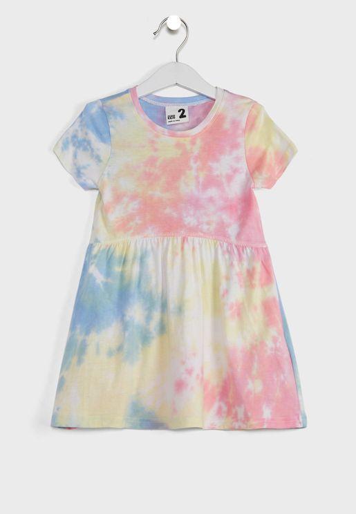 Kids Tie Dye Dress
