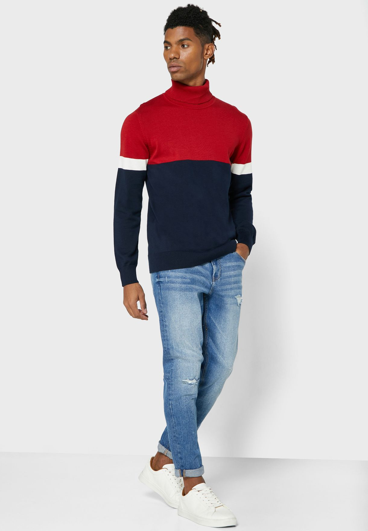 Colourblock Knit
