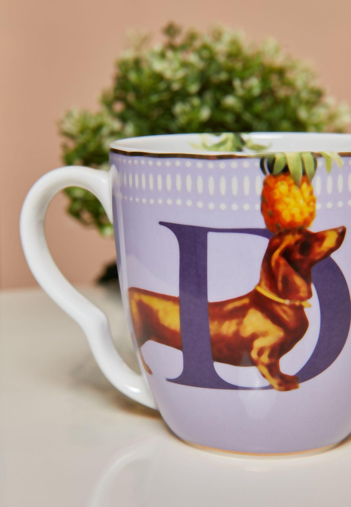 Alphabet Mug - Dog