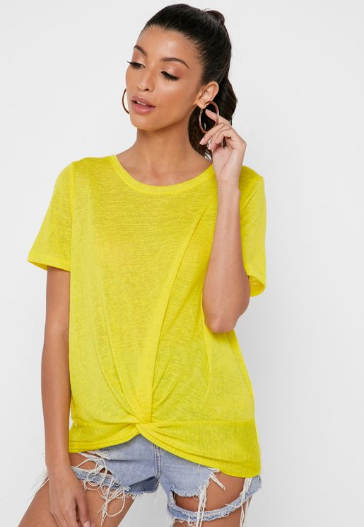 Front Twisted T-Shirt