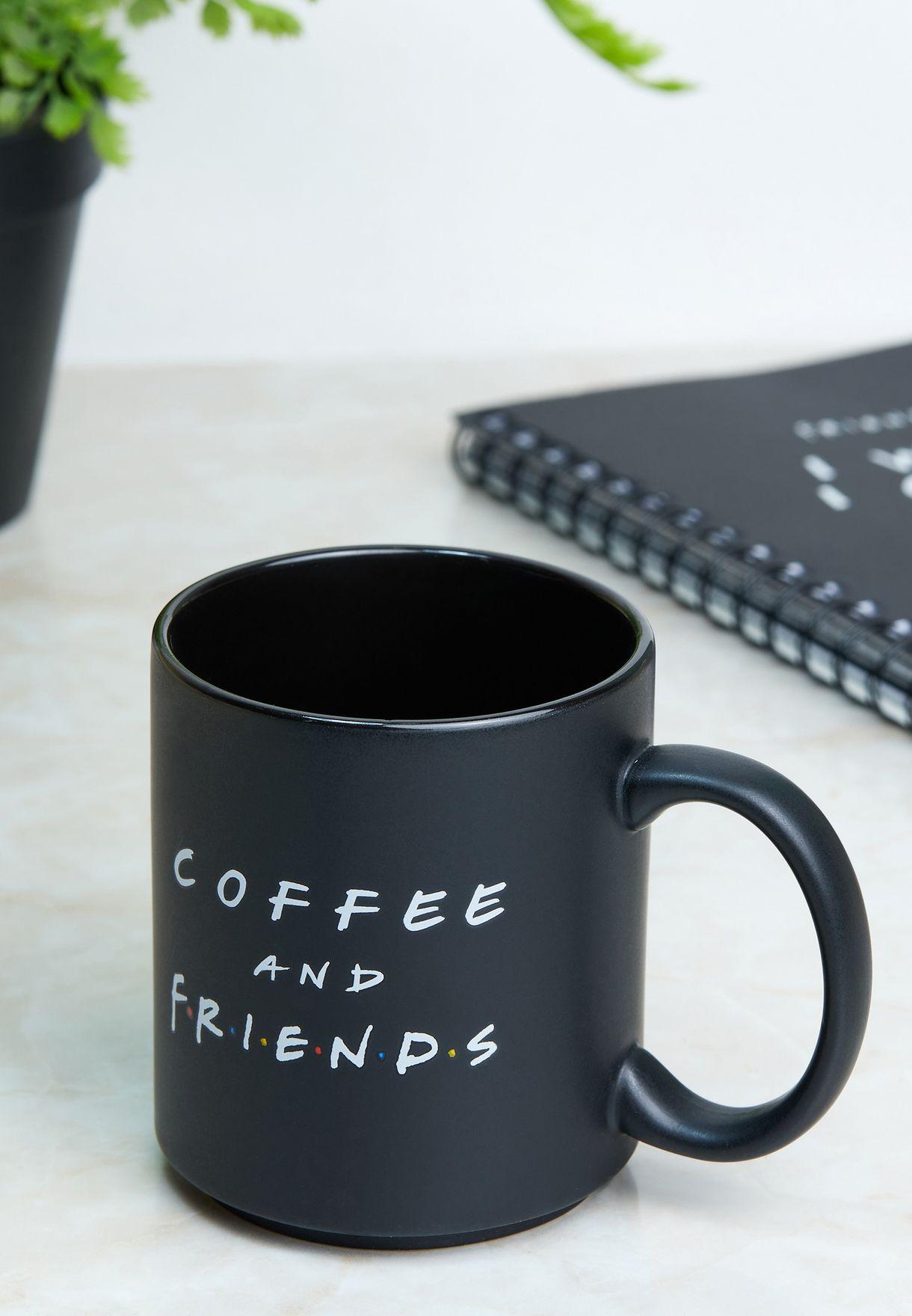 مج قهوة بطبعة فريندز