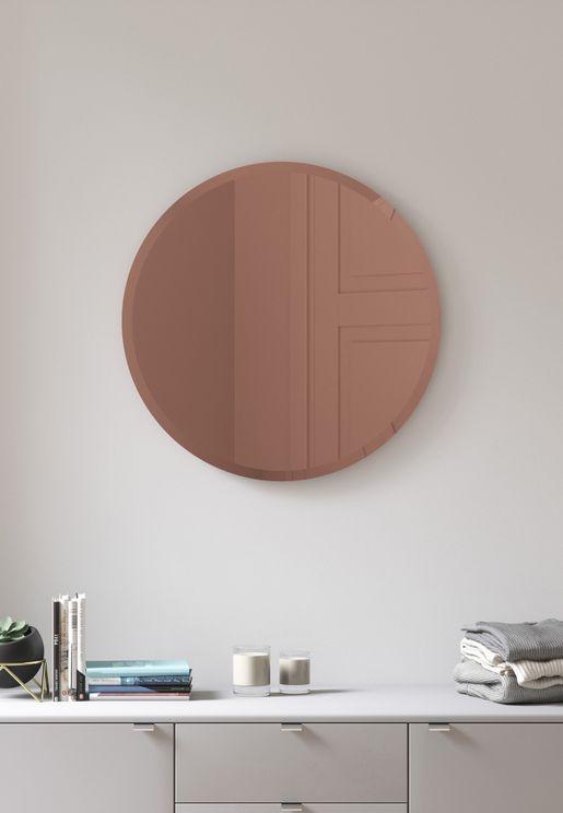 Hub Bevy Copper Mirror