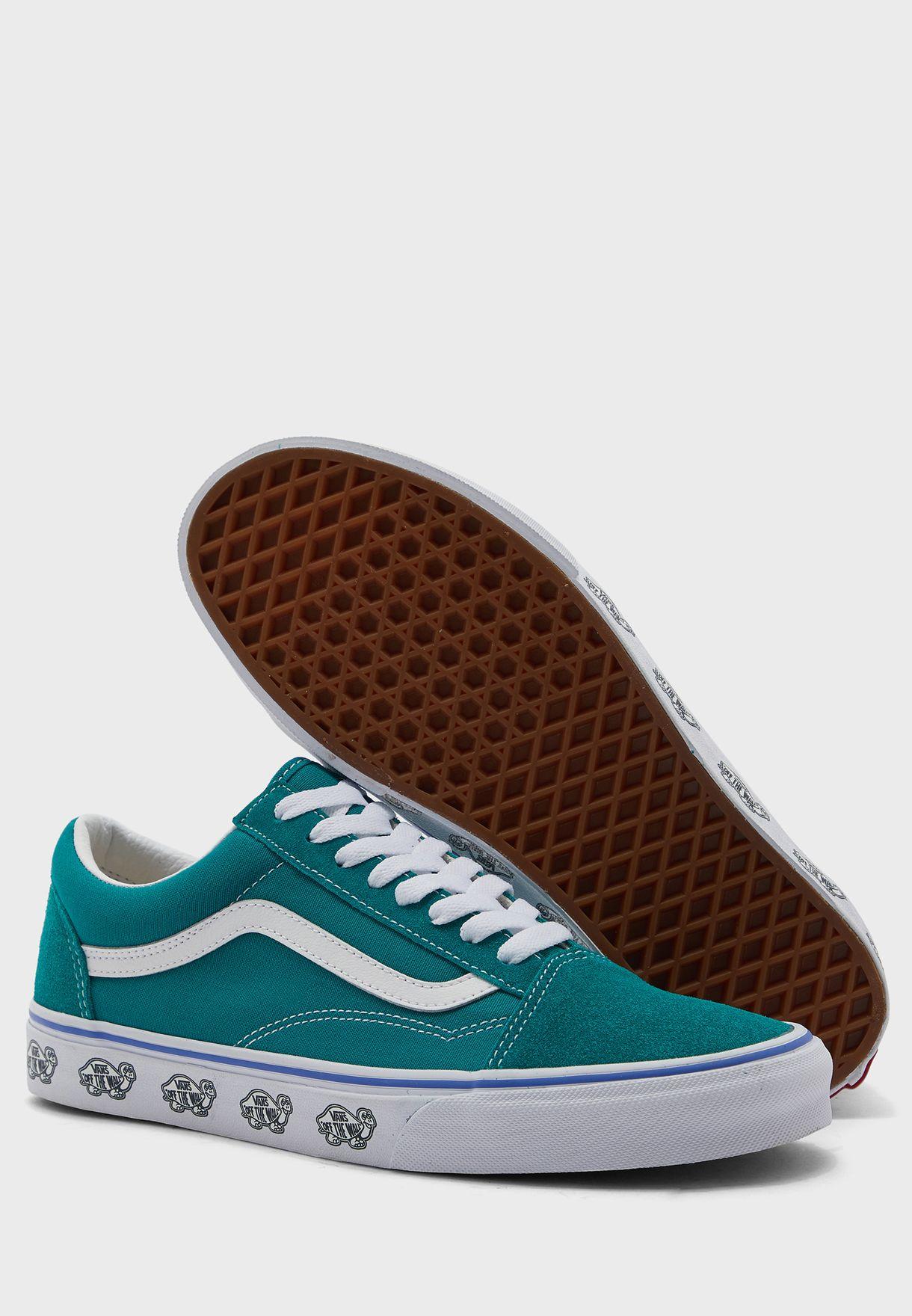 حذاء اولد سكول بطبعات جانبية