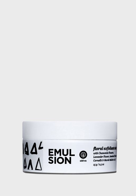 Floral Exfoliant Add On