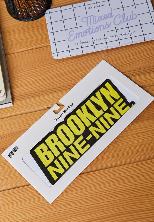 ملصقات بروكلين 99