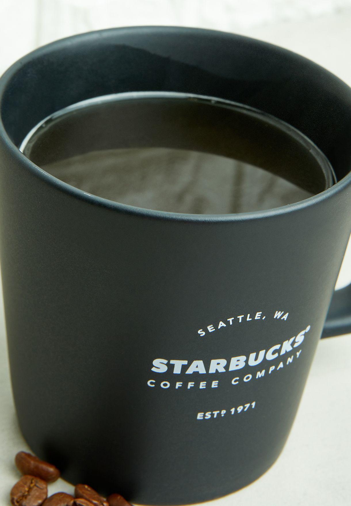 Black Logo Mug 12Oz