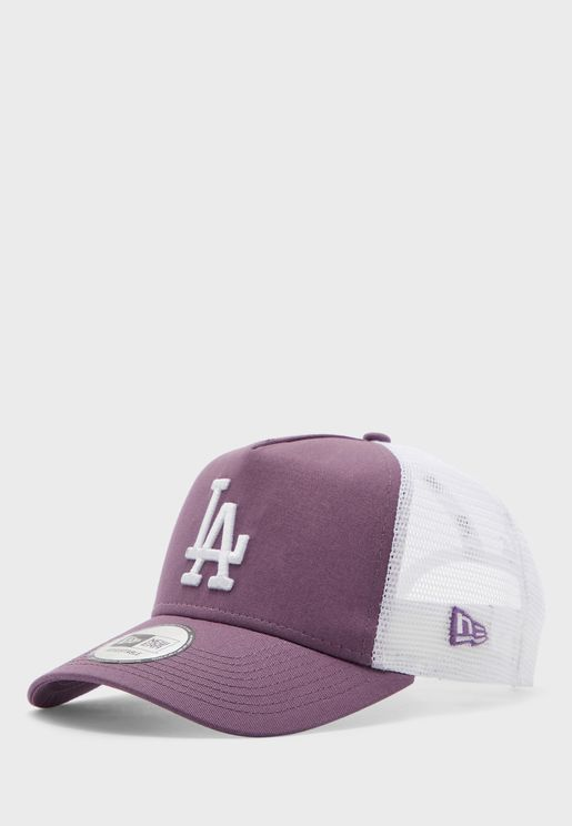 9Forty Los Angeles Dodgers League Trucker