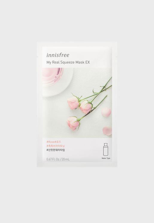 My Real Squeeze Mask [Rose] 20ml