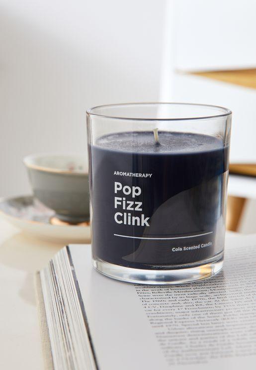 شمعة عطرية برائحة الكولا