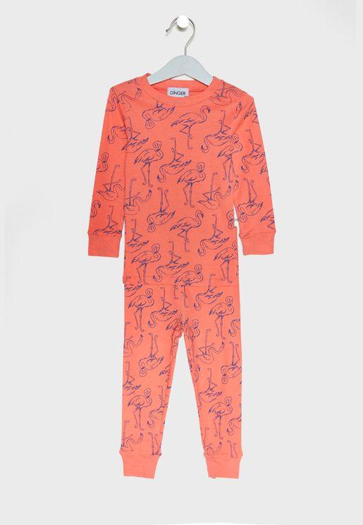 Beak Print Pyjama Set