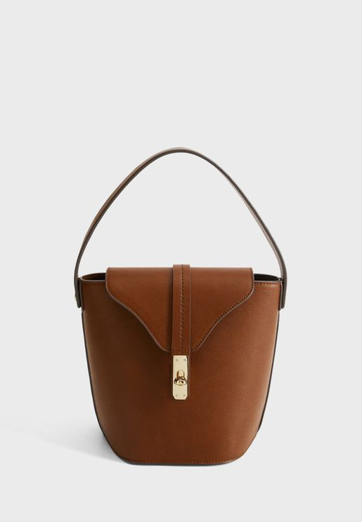 Martin Flap Round Handle Hobo