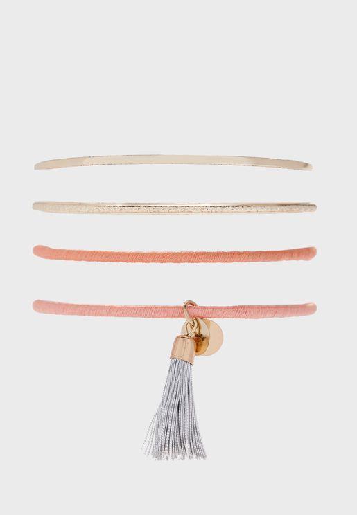 Pack of 4 Bracelets