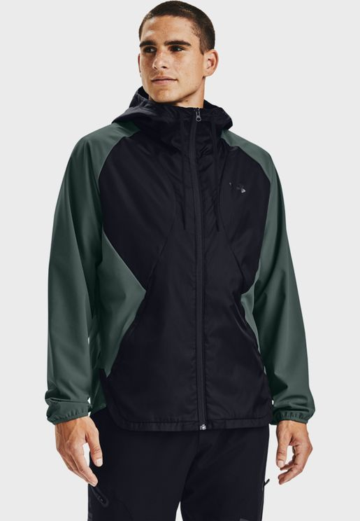 Stretch Woven Hoodie
