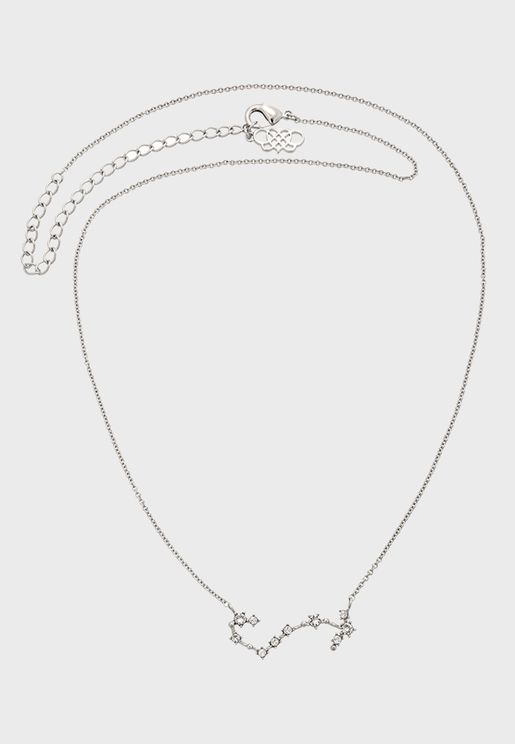 Scorpio star sign - Crystal Necklace