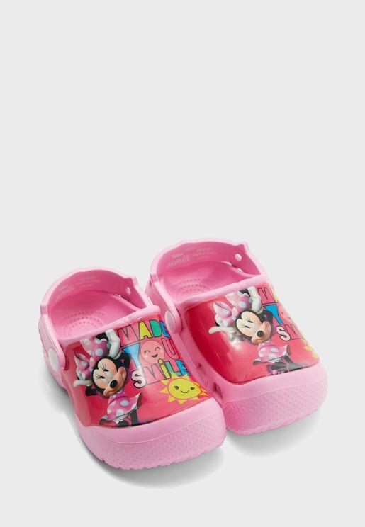 Kids Minnie Mouse Clog Sandal