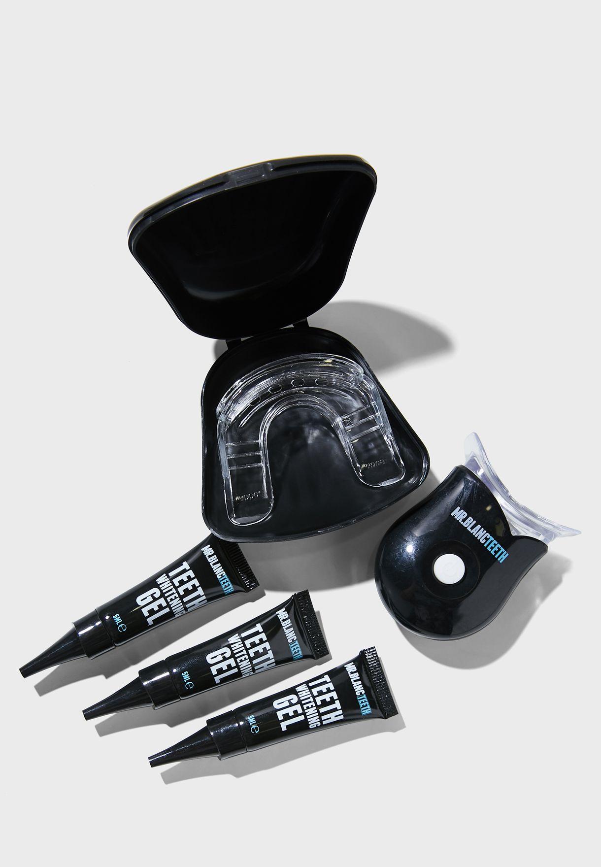 مجموعة احترافية لتبييض الاسنان