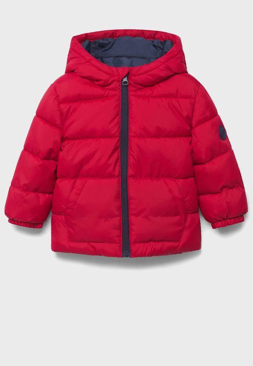 Infant Padded Hooded Jacket