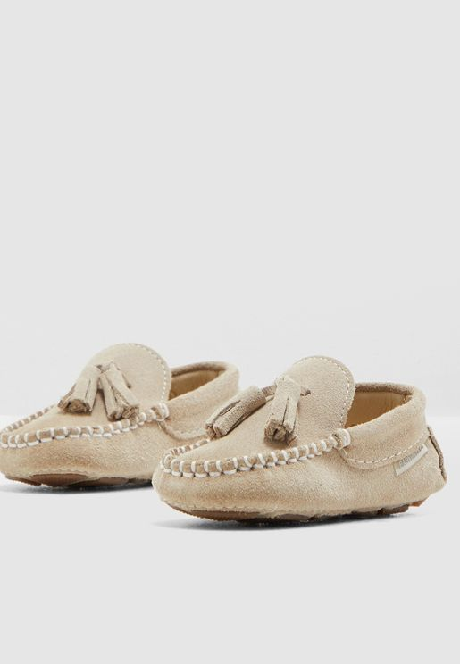 Infant Suede Loafers