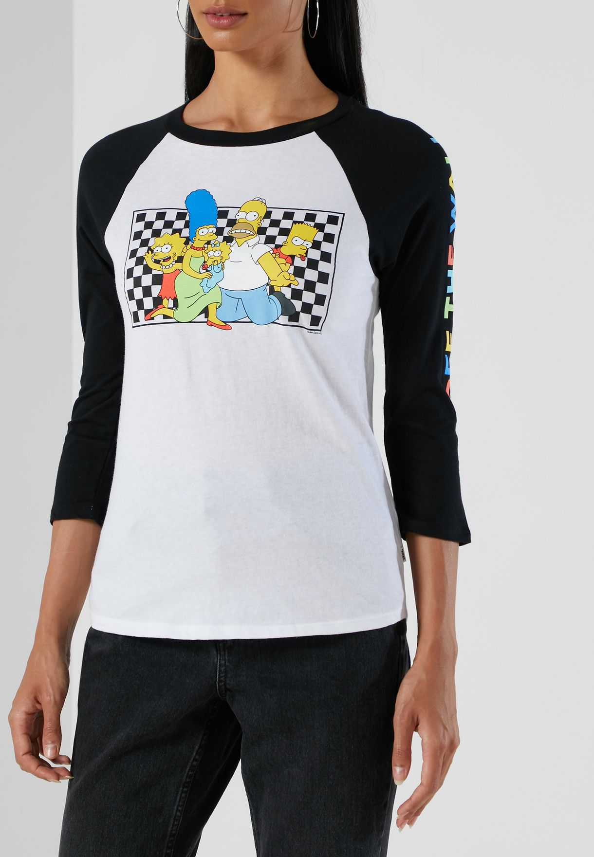 Simpsons Raglan T-Shirt