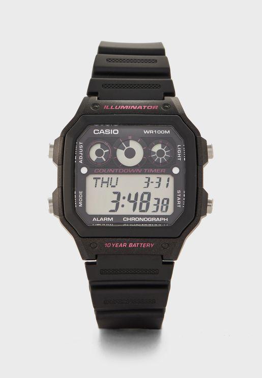ساعة ديجيتال كرونوغراف