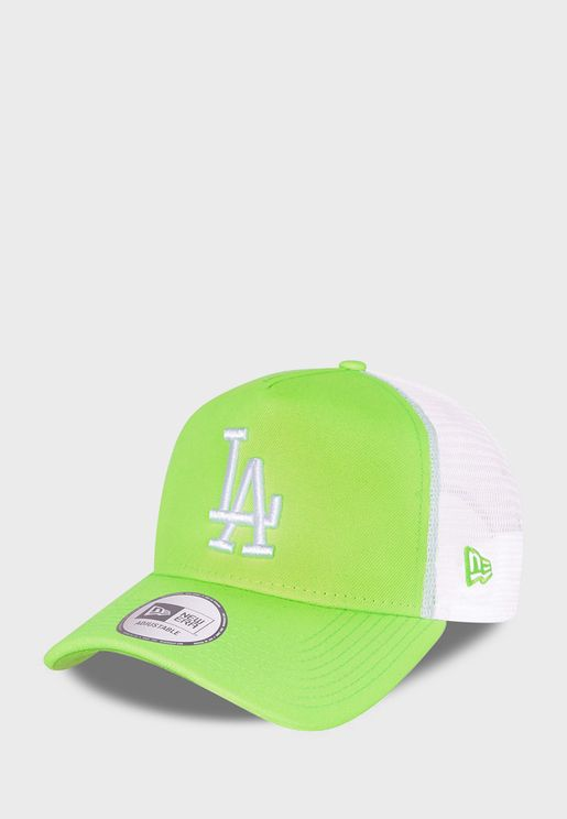 9Forty Los Angeles Dodgers Tonal Mesh Trucker Cap