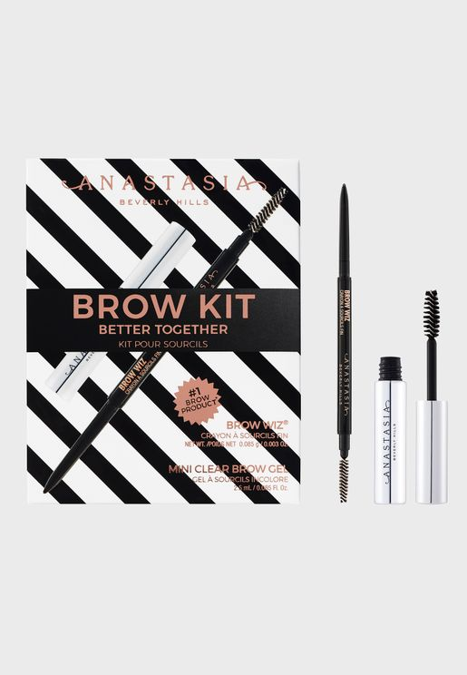 Better Together Brow Kit - Dark Brown