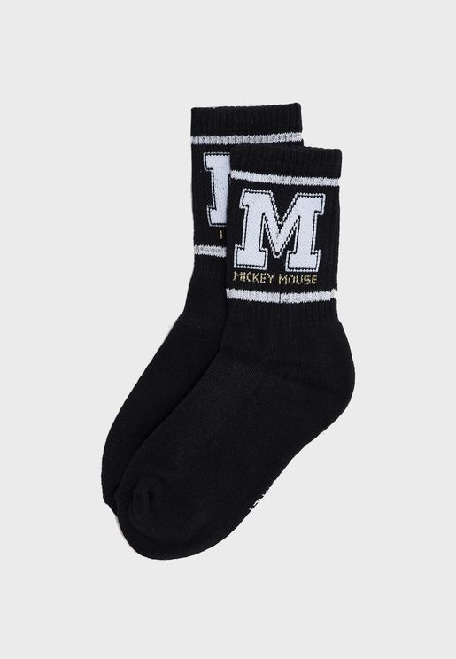 Striped Detail Socks