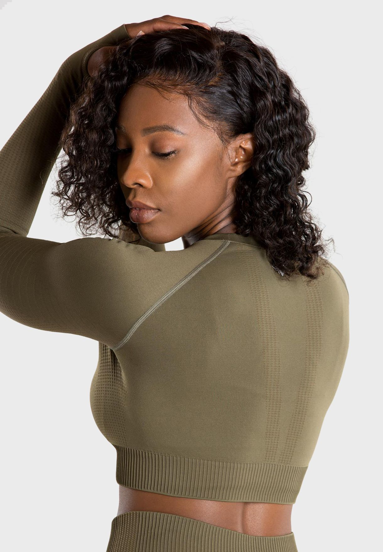 Power Seamless Cropped Top
