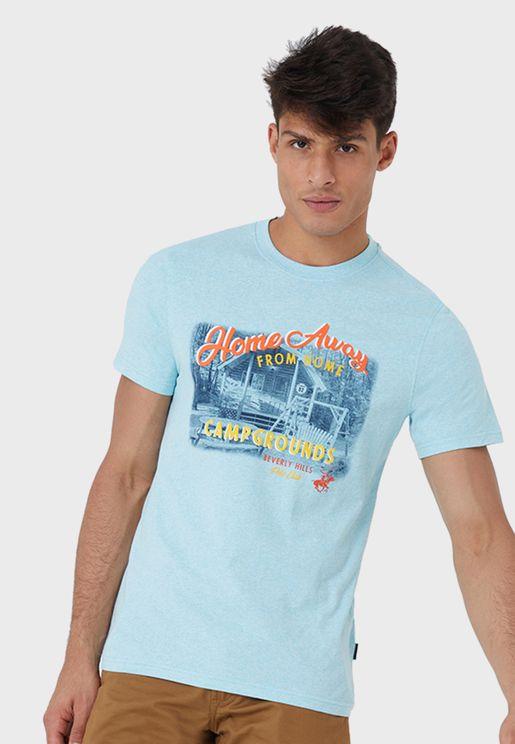 Home Away Crew Neck T-Shirt