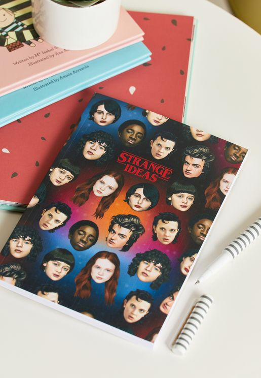 A5 Stranger Things Notebook