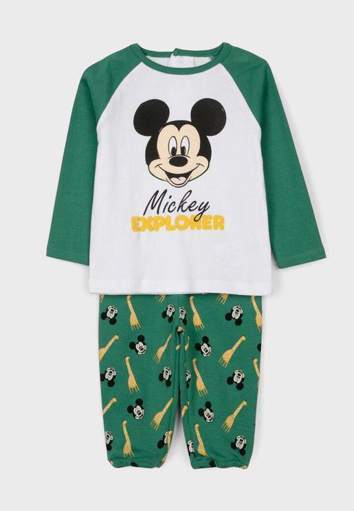 Infant Mickey Mouse Pyjama Set