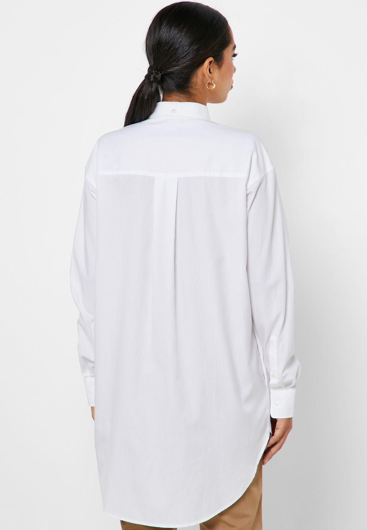 قميص طويل سادة