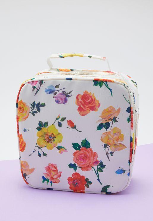 Floral Square Lunchbag