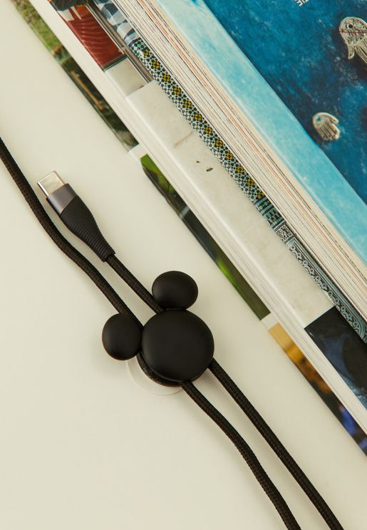 2 Pack Mickey Cable Pinch