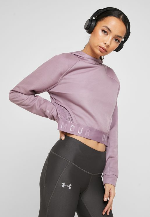 Unstoppable Cropped Hoodie