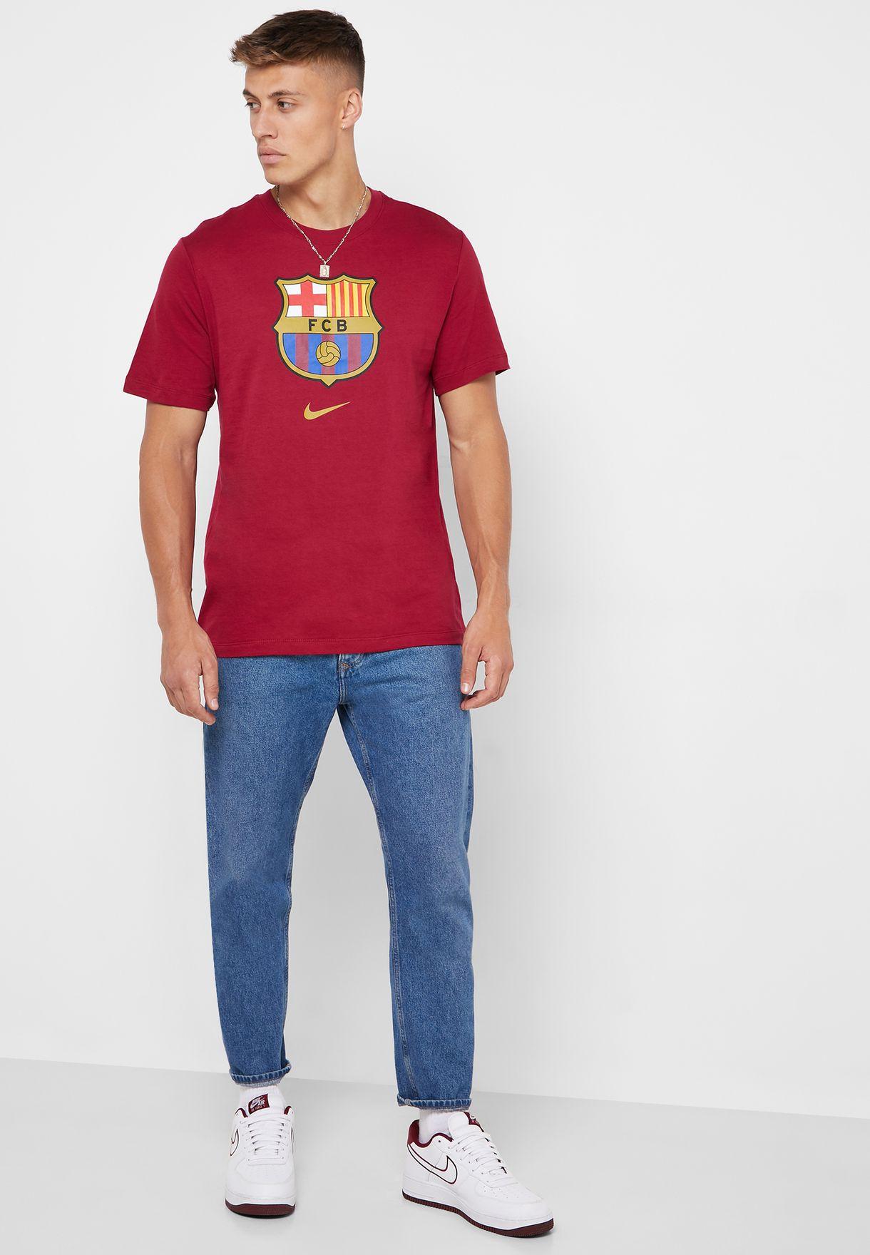 تيشيرت بشعار نادي برشلونة لكرة القدم