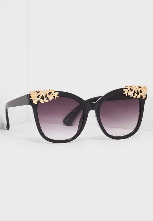 Pupurata Cat Eye Sunglass