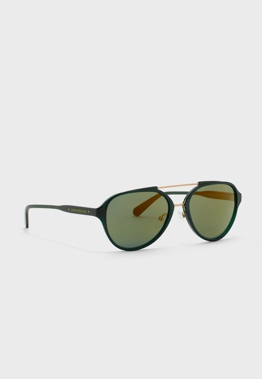 CKJ20502S Aviator Sunglasses